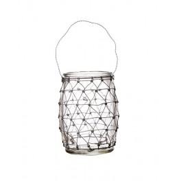 LACE Hanging tea light holder
