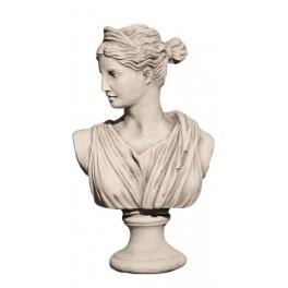 ROMA Woman statue white S