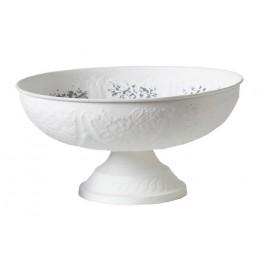 WHITE Bowl on foot M